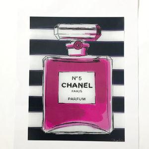 Other - Chanel Glam No 5 Parfum Decor Fashion Wall Art